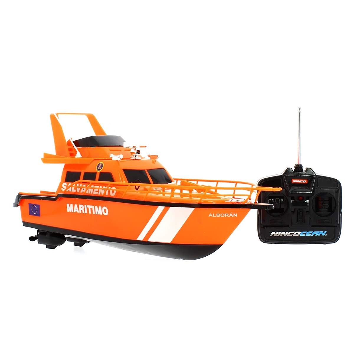 barco telecomandado