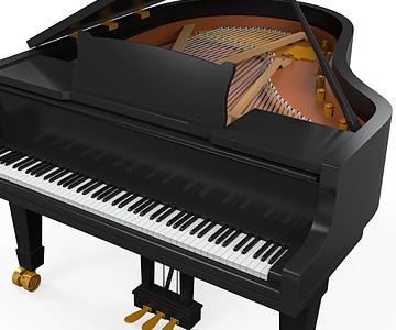 pianos e órgãos