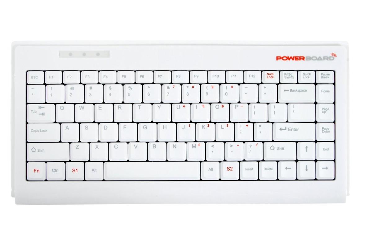 teclado inalambrico wii