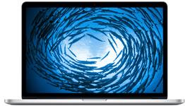 macbook pro core i7 2.5 15 (2015) (a1398)