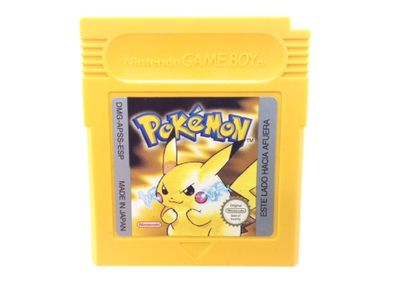 accesorio gameboy nintendo pokemon amarillo