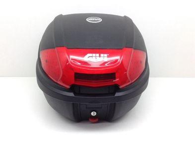 accesorio moto givi negro y rojo