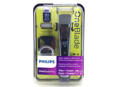 afeitadora electrica philips one blade pro