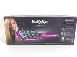 alisador pelo babyliss liss brush 3d