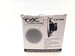 altavoz empotrable acoustic  control c8/100v