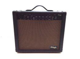 amplificador guitarra stagg 20 aa r