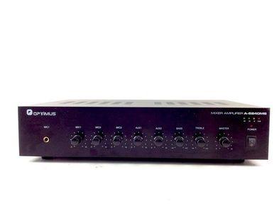 amplificador hifi otros optimus mixer amplifier a-5240mb