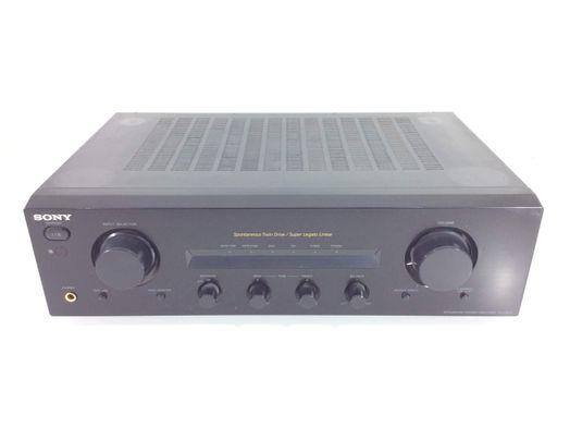 amplificador hifi sony tafe570