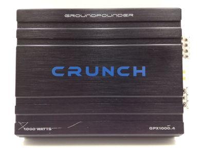 amplificador crunch gpx1000.4