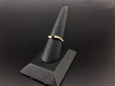 anel ouro 19k (ouro 19k com pedra)
