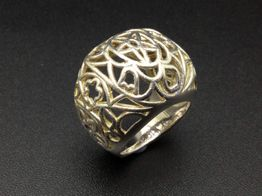 anillo plata 925mm