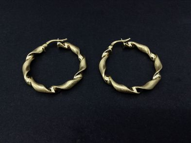 argollas oro primera ley (oro 18k)