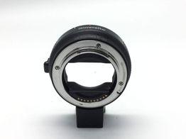 aro adaptador lente sony para canon a sony e