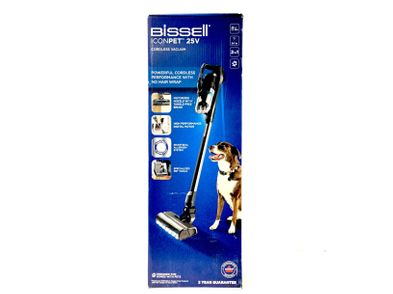 aspirador escoba bissell icon pet 25v 2602d
