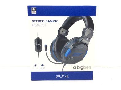 auricular ps4 bigben stereo gaming headset