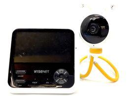 baby monitor wisenet seb-102crw