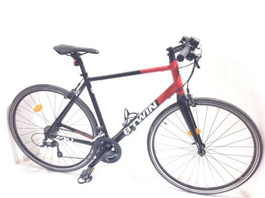 bicicleta carretera b twin triban 520