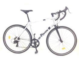 bicicleta carretera btwin triban 100