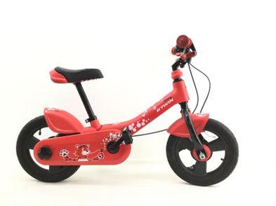 bicicleta criança b twin woony red