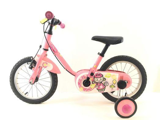 bicicleta criança btwin hello kitty