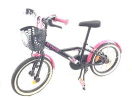 bicicleta criança btwin spy hero girl 900