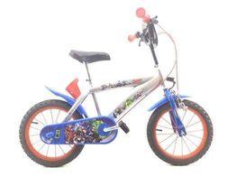 bicicleta criança marvel avengers