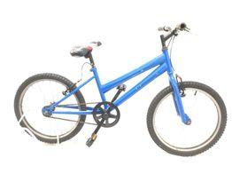 bicicleta criança outro azul