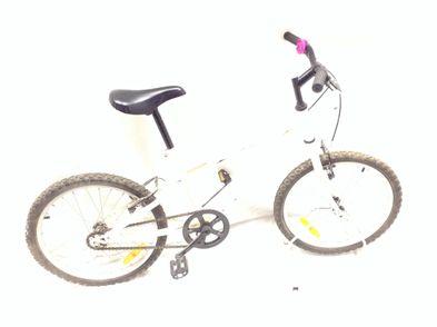 bicicleta criança outro branca