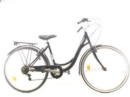 bicicleta de passeio btwin elops 100