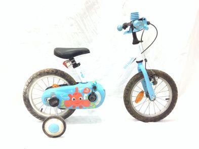 bicicleta niño b twin 14 acua