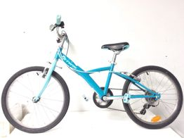 bicicleta niño btwin azul