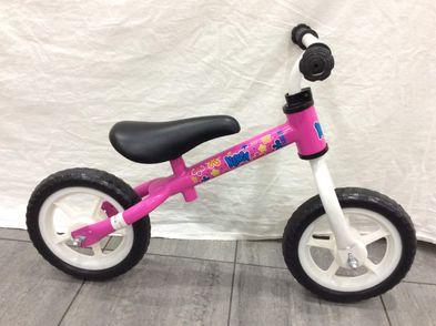 bicicleta niño otros rosa con flores