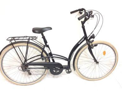 bicicleta paseo b twin elops 300