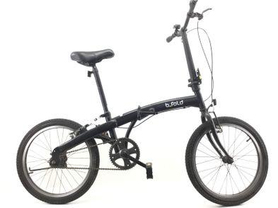 bicicleta plegable otros negro
