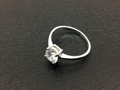 bisuteria anillo plata