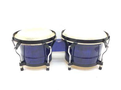 bongos outro azul - hide bongos