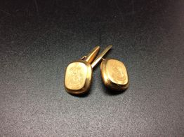 botões de punho ouro 19k (ouro 19k)