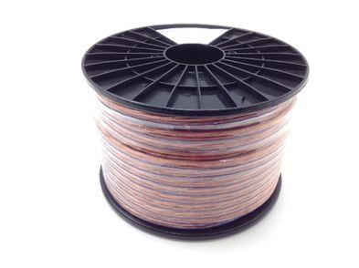 cables y conexiones musica pro audio speaker cable 100m/12,5mm