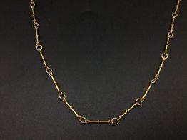 cadena oro 14k 23cm