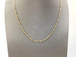 cadena oro 18k 22cm