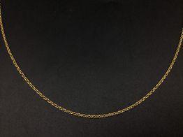 cadena oro 18k 27cm