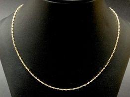 cadena oro 18k 20.7cm