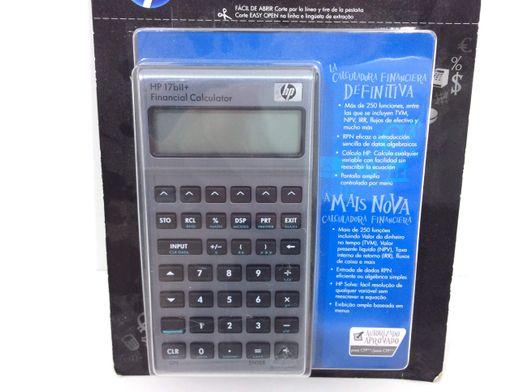 calculadora financiera hp 17bll+