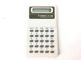 calculadora canon lx-40