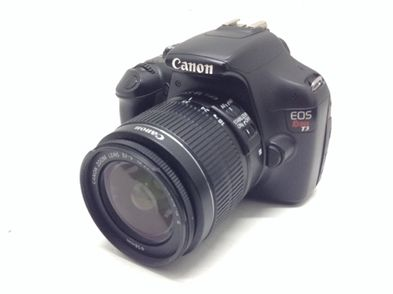 camara reflex canon eos rebel t3