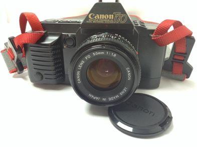 camara reflex canon t70