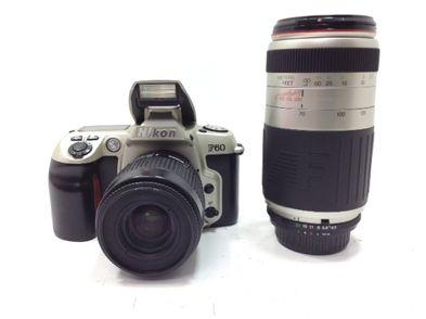 camara reflex nikon f60+nikon 35-80mm 4-5.6d+cosina 70-300mm 4.5-5.6