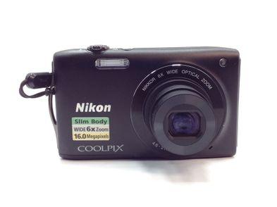 camara digital compacta nikon coolpix s3200