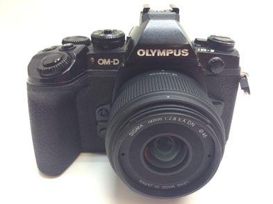 camara digital evil olympus om-d e-m1 + sigma 19mm 1:2.8 ex dn