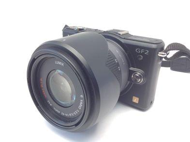 camara digital evil panasonic lumix dmc-gf2+14mm 1:2.5 asph